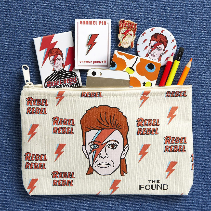 The Found David Bowie Pouch