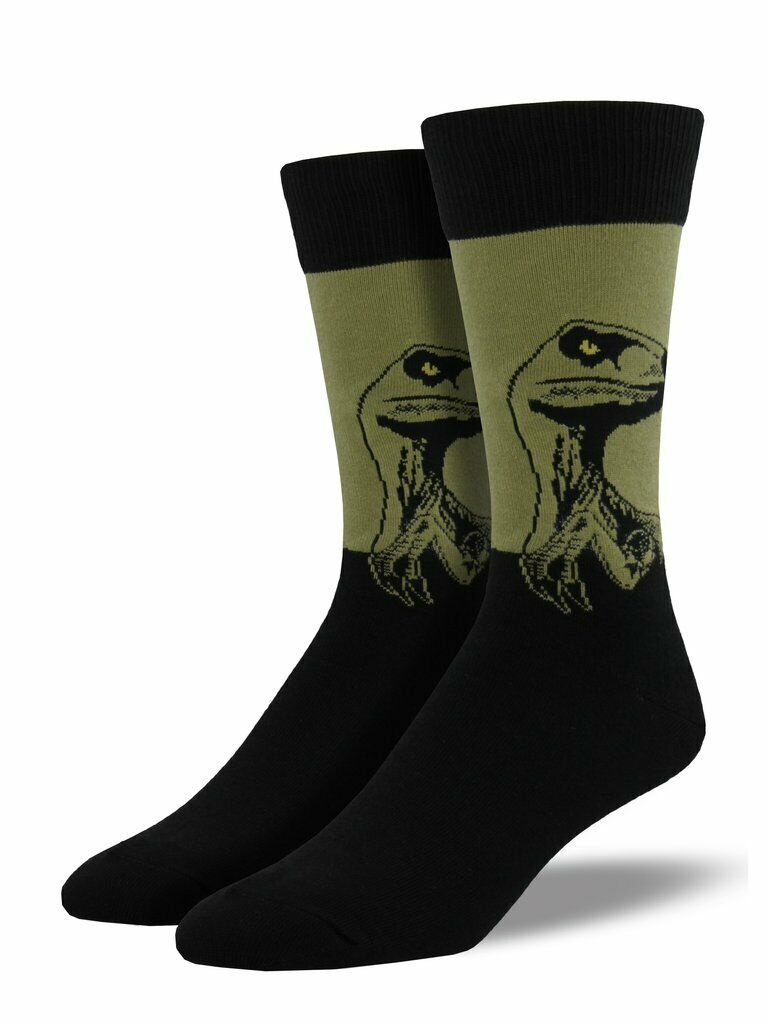 "Men's ""Raptor"" Socks in Olive"