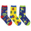 "Kid's ""Science Camp"" 3-Pack Socks"