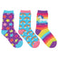 "Kid's ""Sparkle Party"" 3-Pack Socks (12-24 months)"