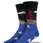 "Men's ""Golden Gate Bridge"" Socks in Black"