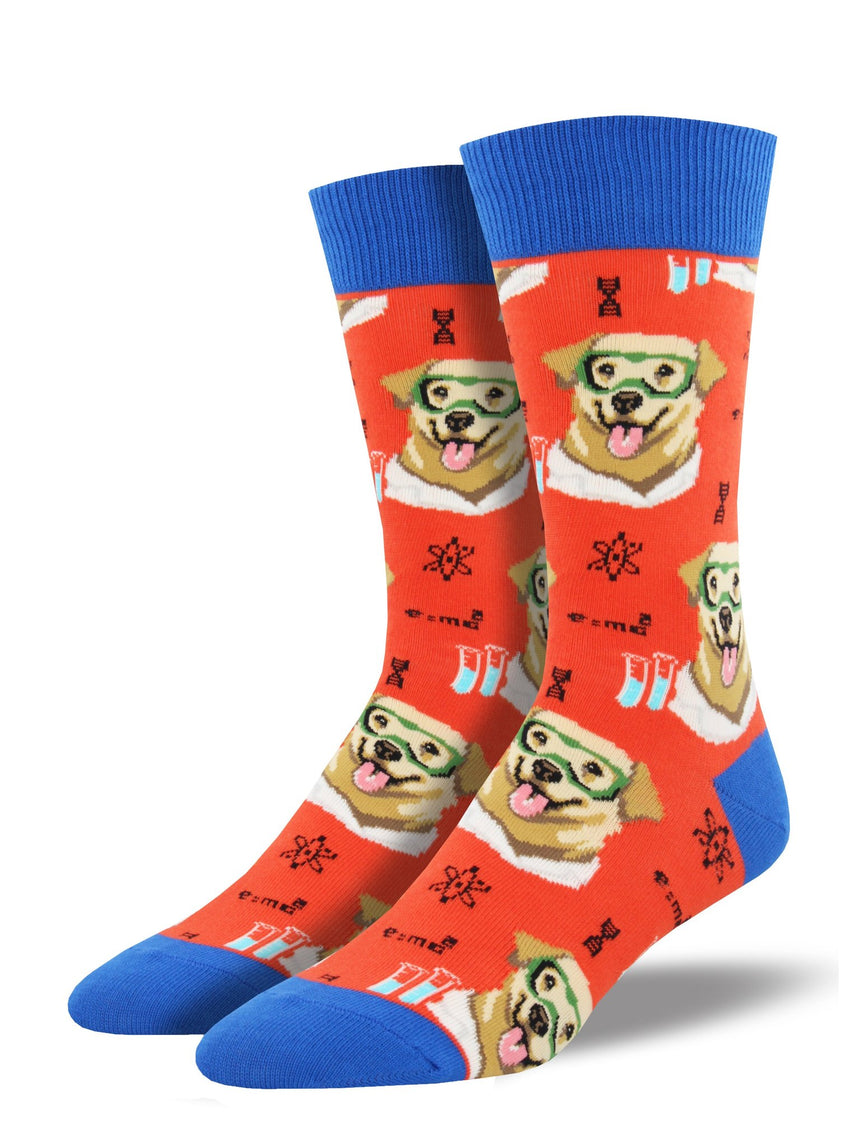 "Men's ""Science Lab"" Socks"