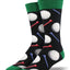 "Men's ""Tee It Up"" Socks in Black"