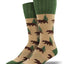 Outlands Men's Bear Socks in Hemp