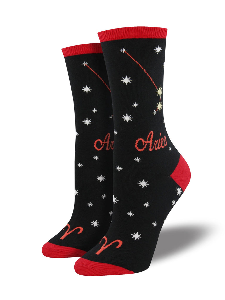 Women's Horoscope Aries Socks