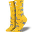 "Women's ""Cativities"" Socks in Gold"