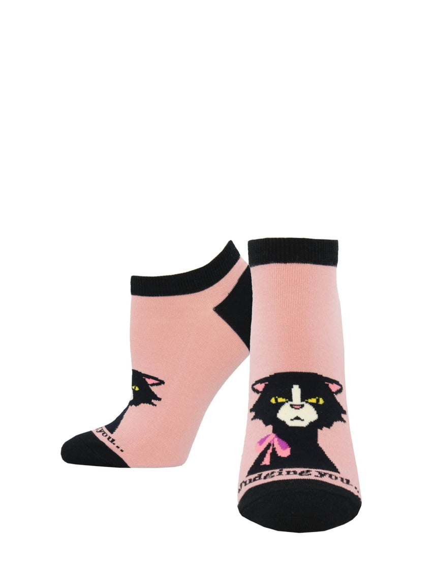 "Women's ""Extra Catty"" Ped Socks"