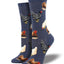 Women's Hen House Socks in Denim Blue