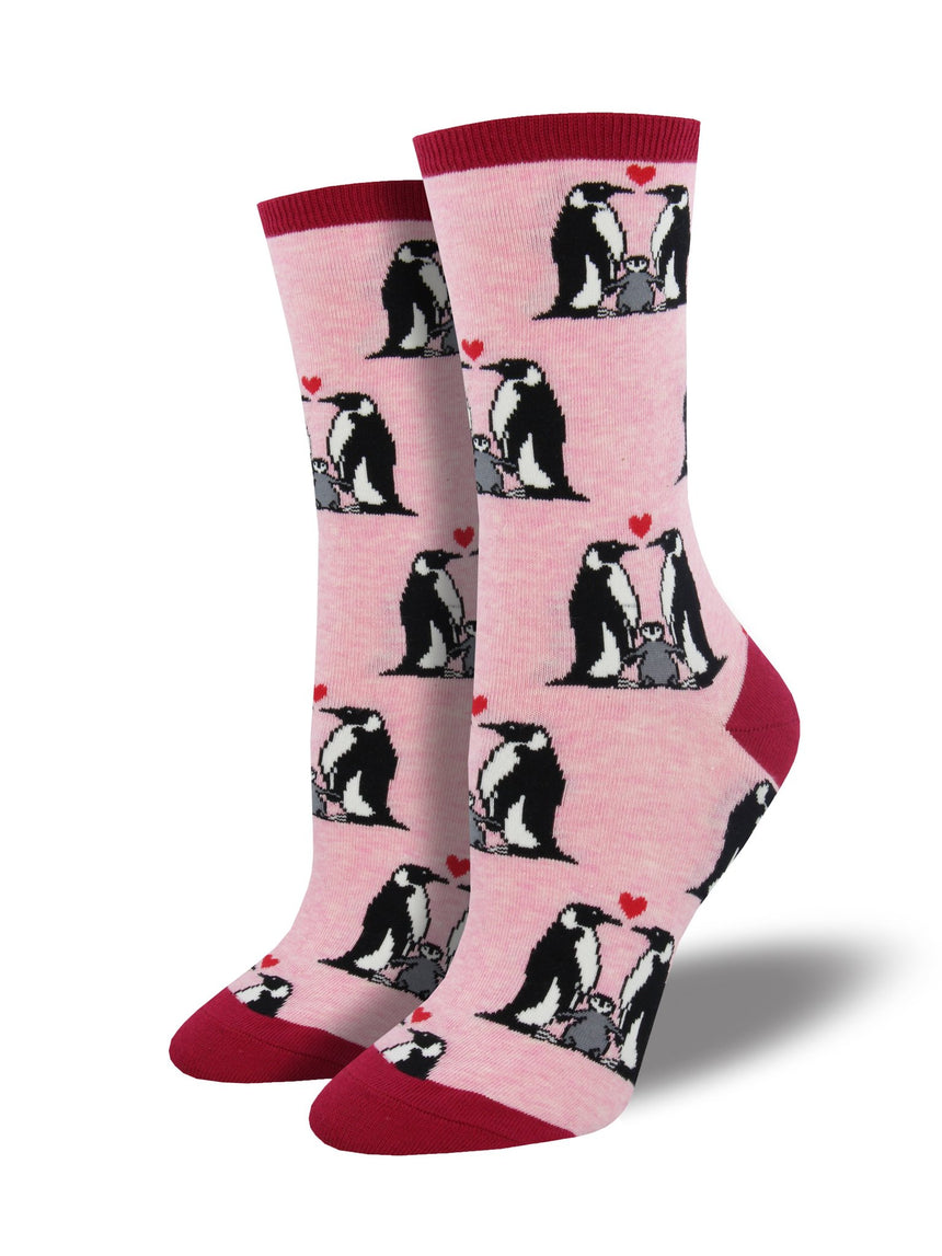 "Women's ""Penguin Love"" Socks"