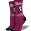 "Women's ""Mother Knows Best"" Socks in Wine"