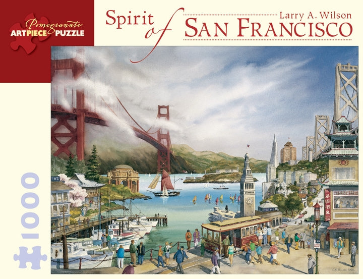 Spirit of San Francisco 1000-Piece Jigsaw Puzzle