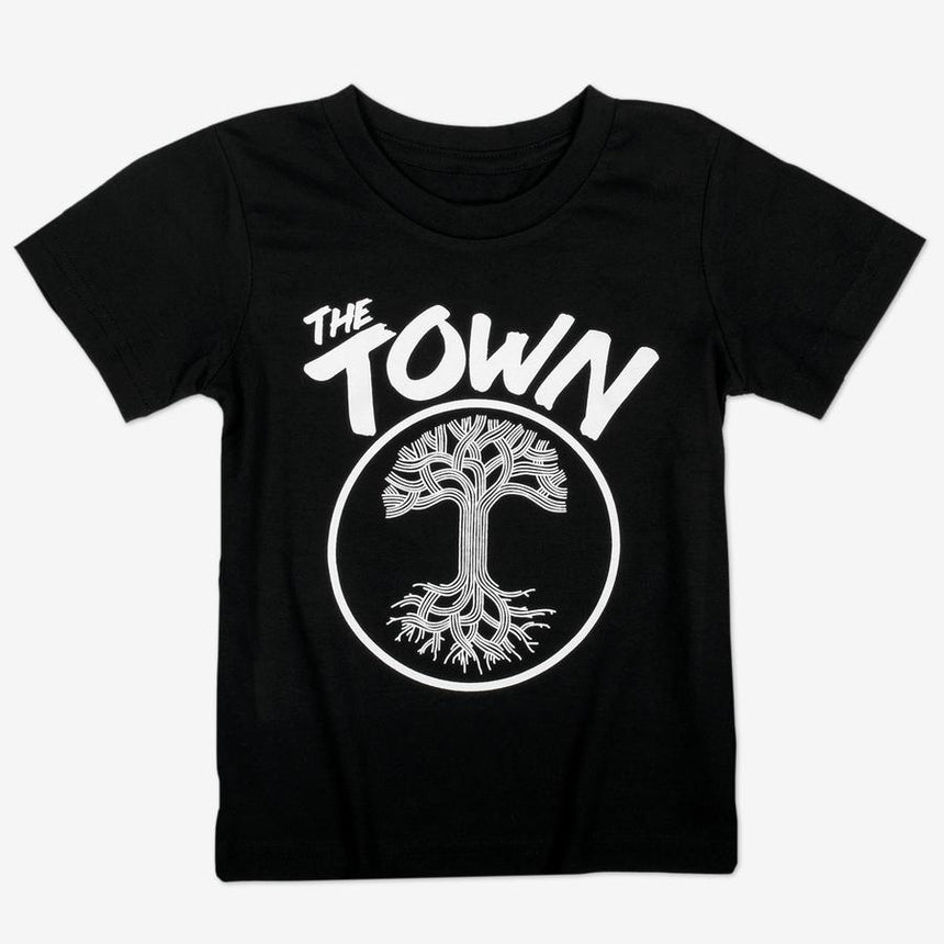 Oaklandish Toddler Forever Tee in Black
