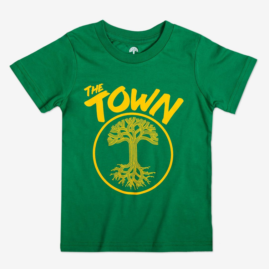 Oaklandish Youth Forever Tee in Kelly Green