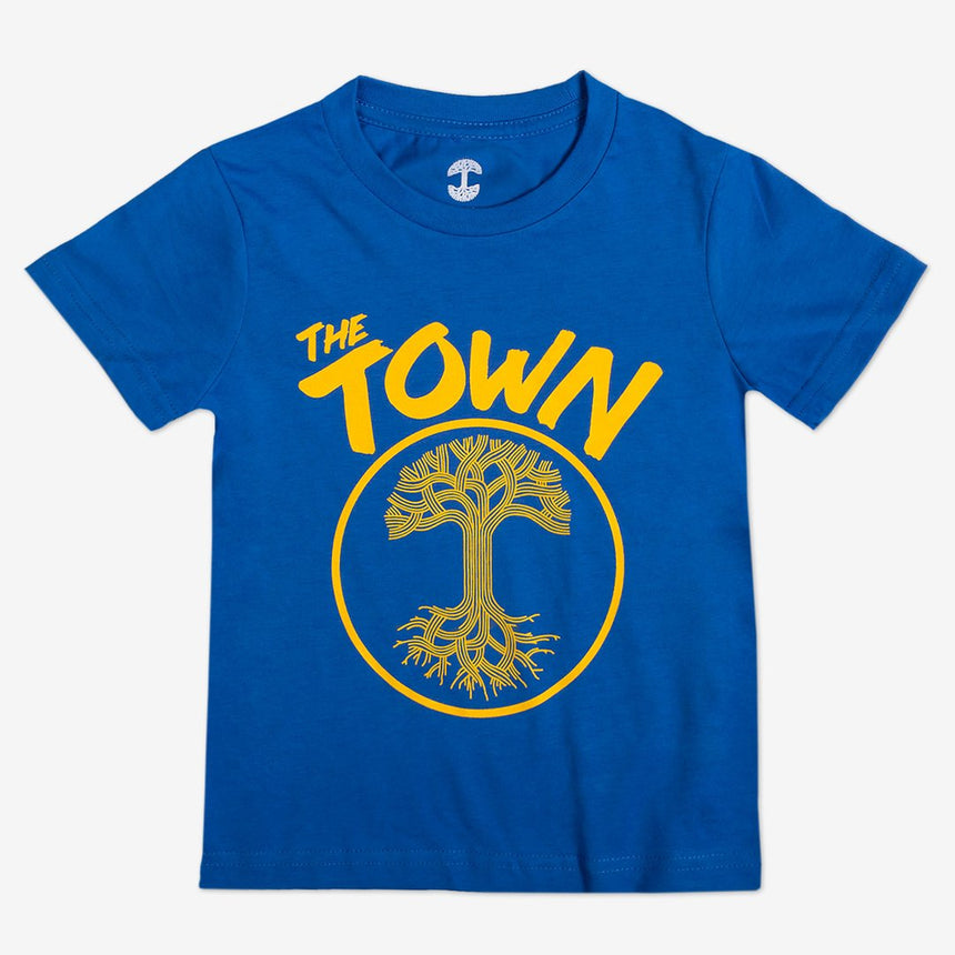 Oaklandish Toddler Forever Tee in Royal Blue