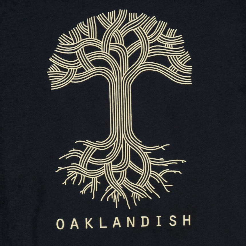 Women's Oaklandish Classic Logo Tee in Navy