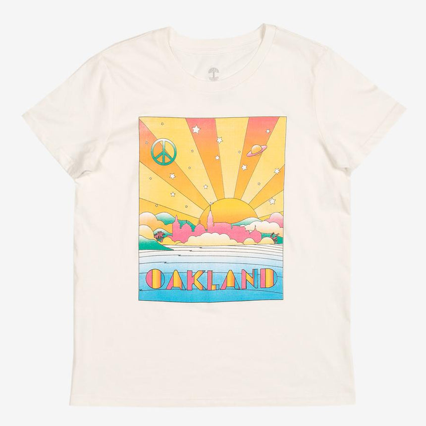 Oaklandish Women's Groovy Oakland Tee