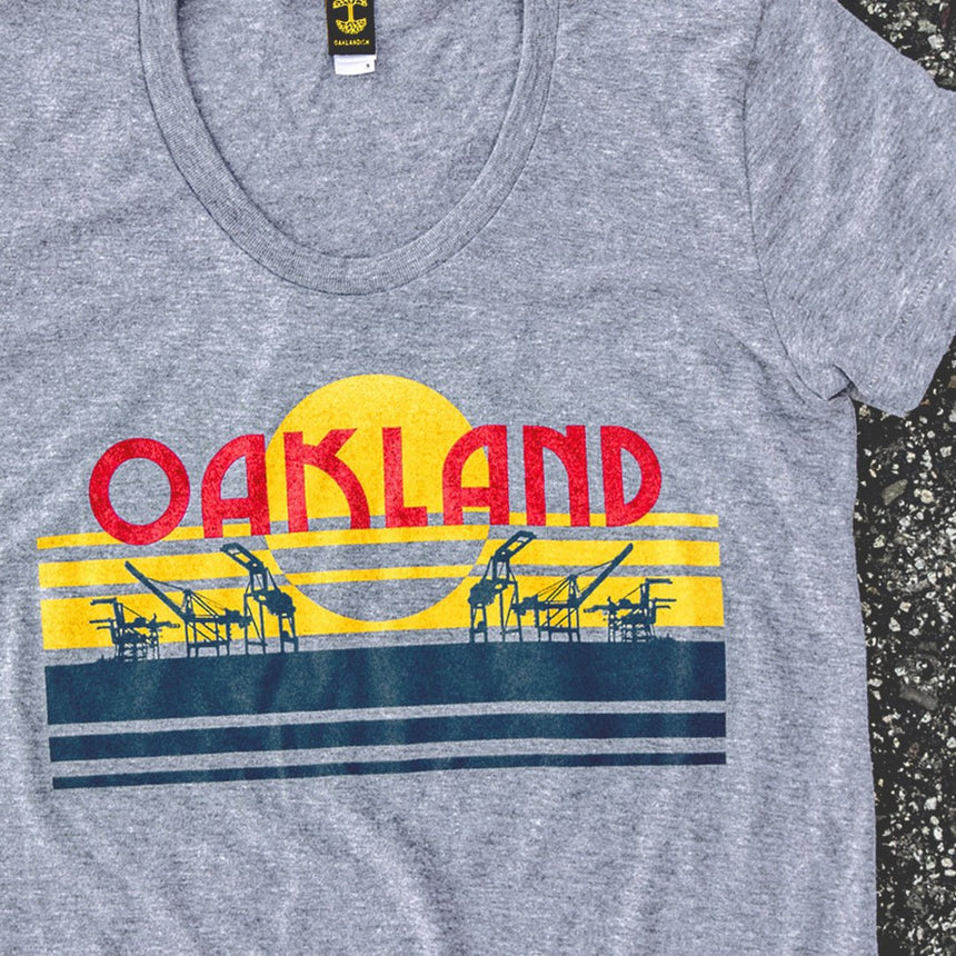 Oaklandish Women's License Plate Tee