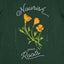 Oaklandish Women's Nourish Tee in Forest