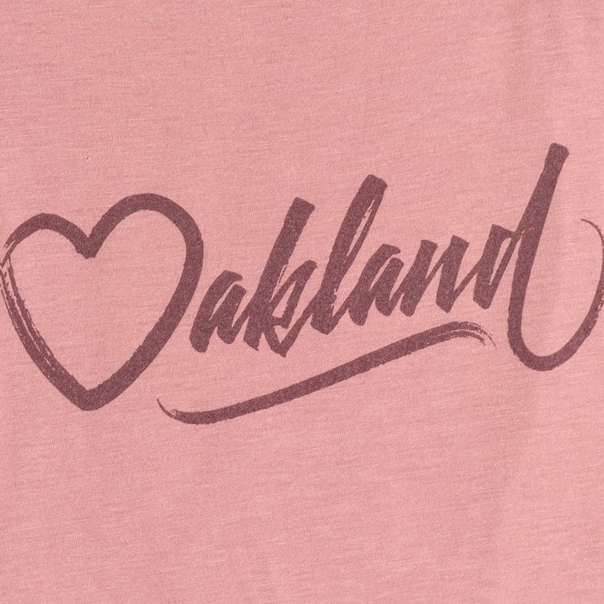 Oaklandish Women's Rudi Tank in Mauve