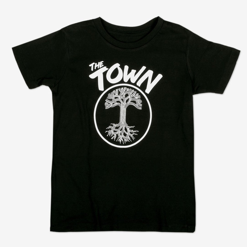 Oaklandish Youth Forever Tee in Black