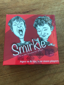 Smirkle: The Sarcastic Sorry about that dice game