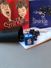 "Load image into Gallery viewer, NOBULL GAME #1: Smirkle - The Sarcastic ""Sorry About That"" Dice Game"