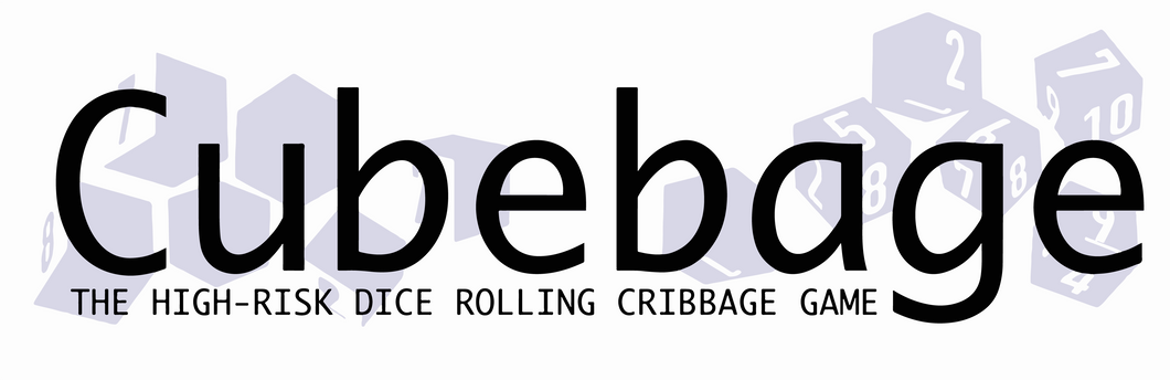 NOBULL GAME #3:  Cubebage: The high-risk dice rolling cribbage game