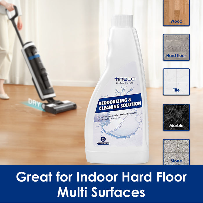 Tineco FLOOR ONE S3/IFloor3/IFLOOR Multi-Surface Cleaning Solution-16.2 oz (480ml)