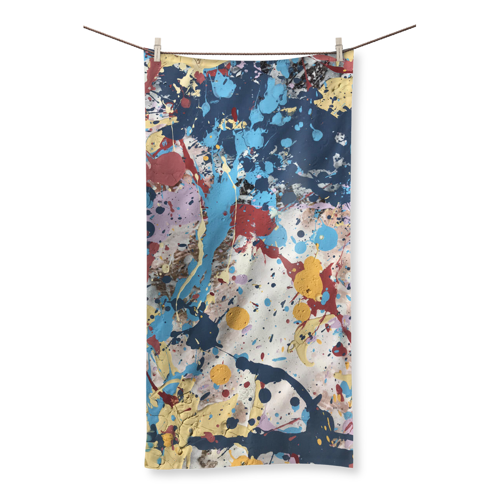 Abstract Beauty Sublimation All Over Towel