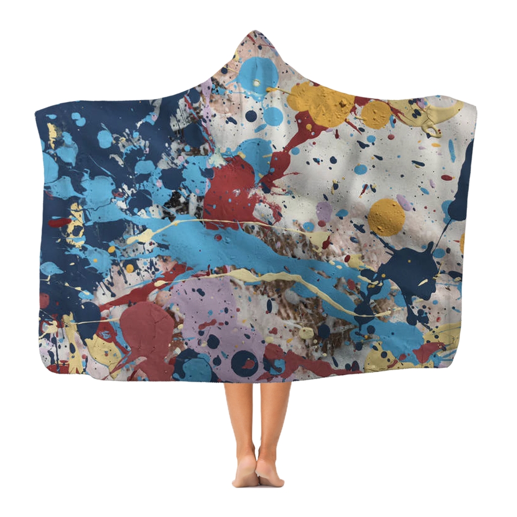 Abstract Beauty Classic Adult Hooded Blanket