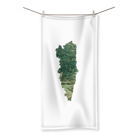 Asturias, Paraíso verde Sublimation All Over Towel