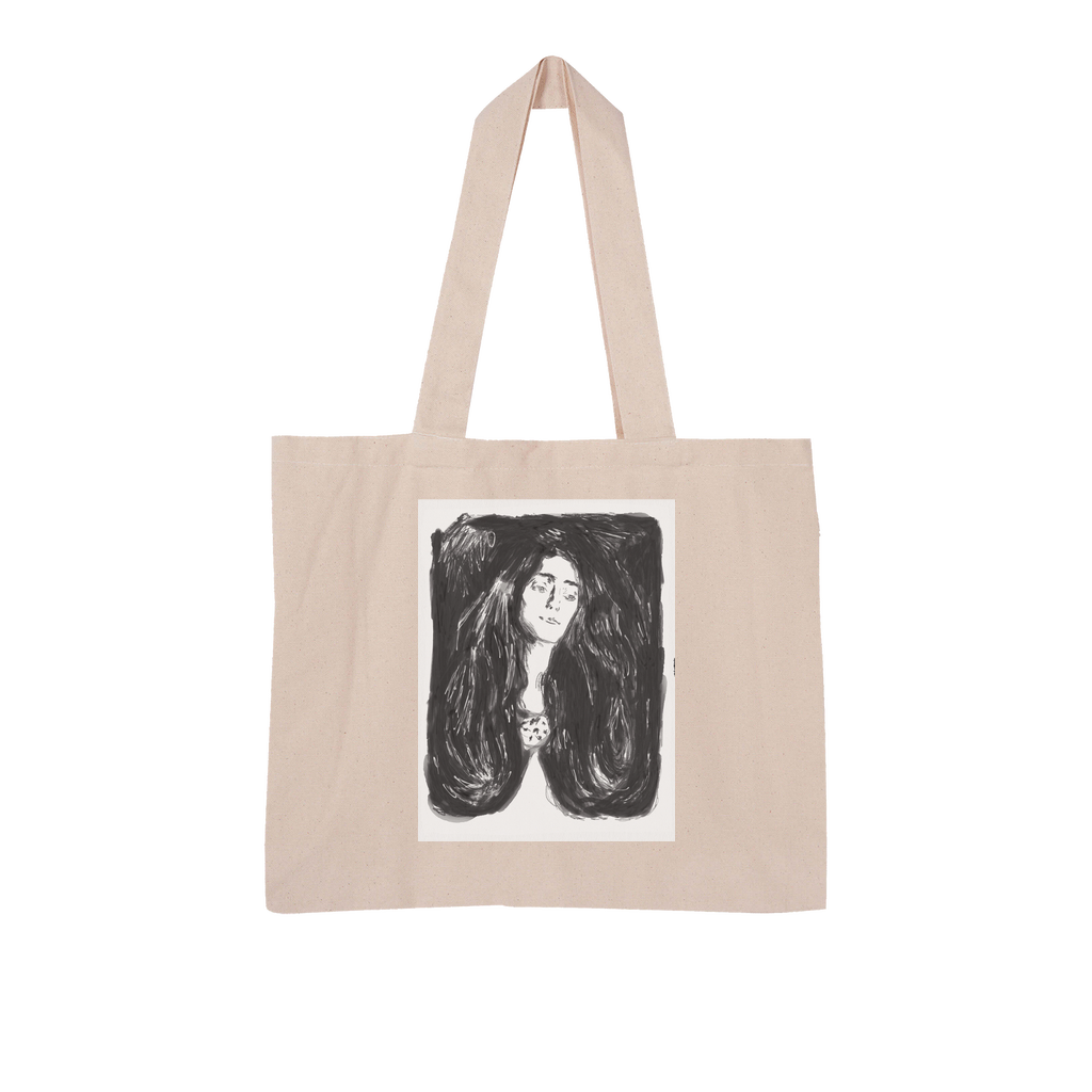 Madonna Large Organic Tote Bag