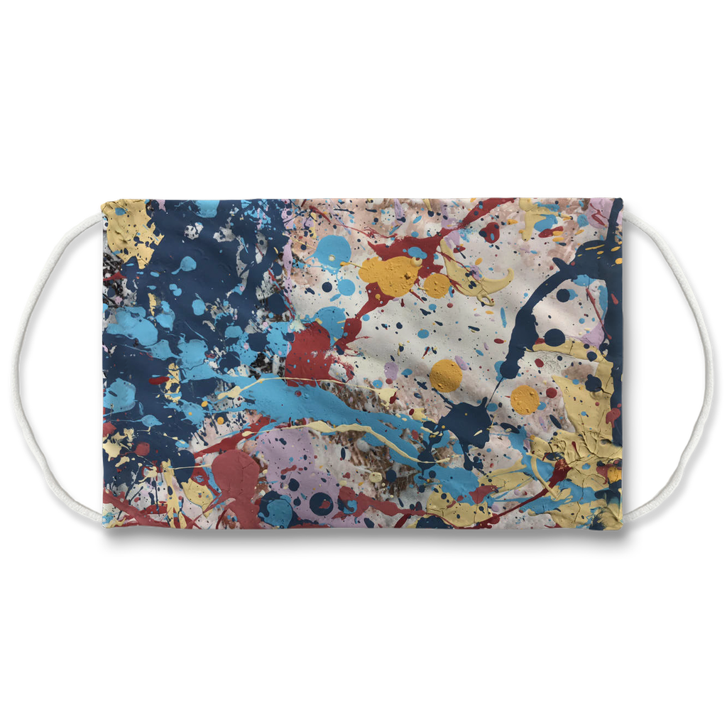 Abstract Beauty Sublimation Face Mask