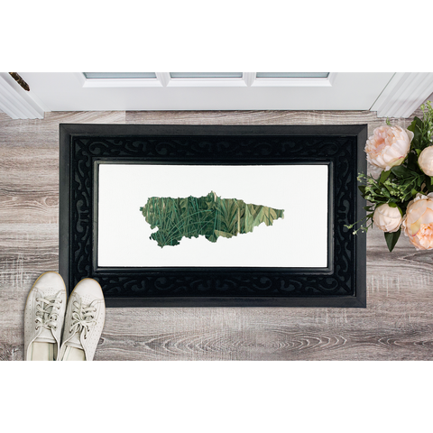 Asturias, Paraíso verde Sublimation Heavy Duty Door Mat