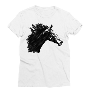 Black Horse Classic Sublimation Women's T-Shirt