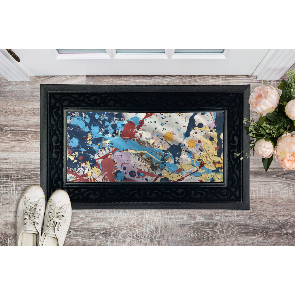 Abstract Beauty Sublimation Heavy Duty Door Mat