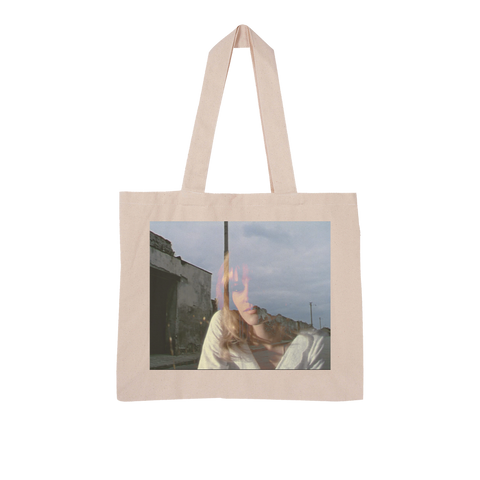 On the Road Large Organic Tote Bag