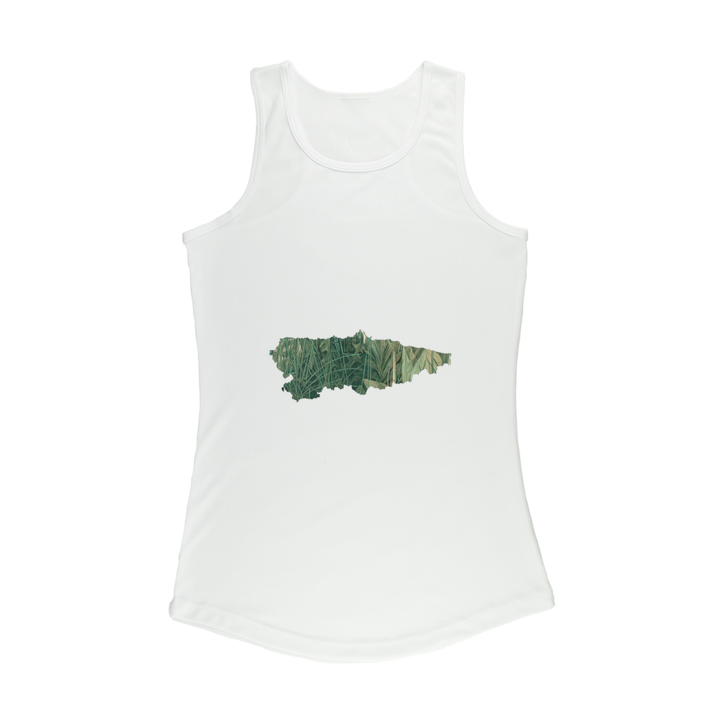 Asturias, Paraíso verde Women Performance Tank Top