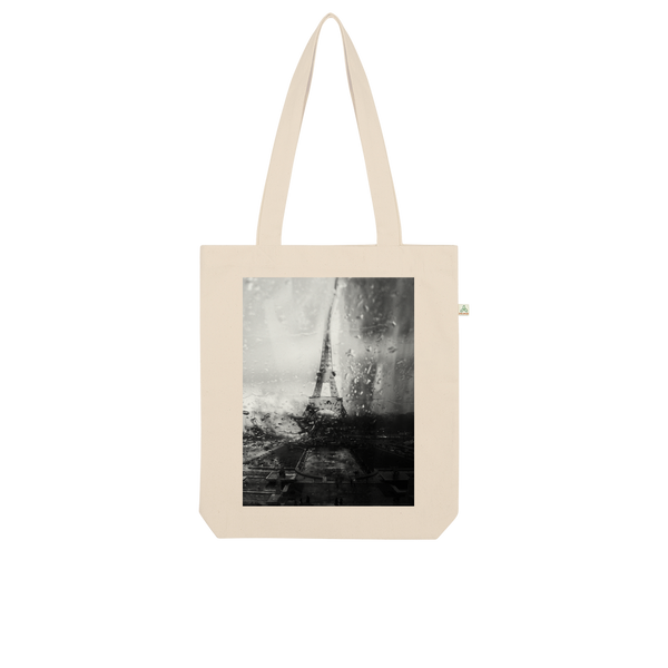 Paris Without End Organic Tote Bag