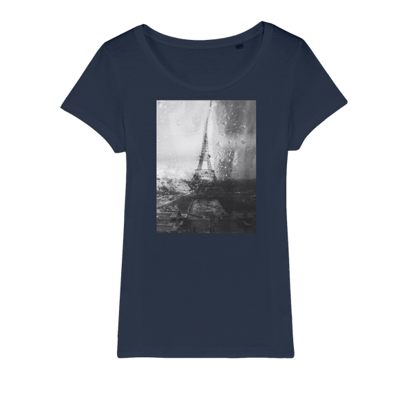 Paris Without End Organic Jersey Womens T-Shirt