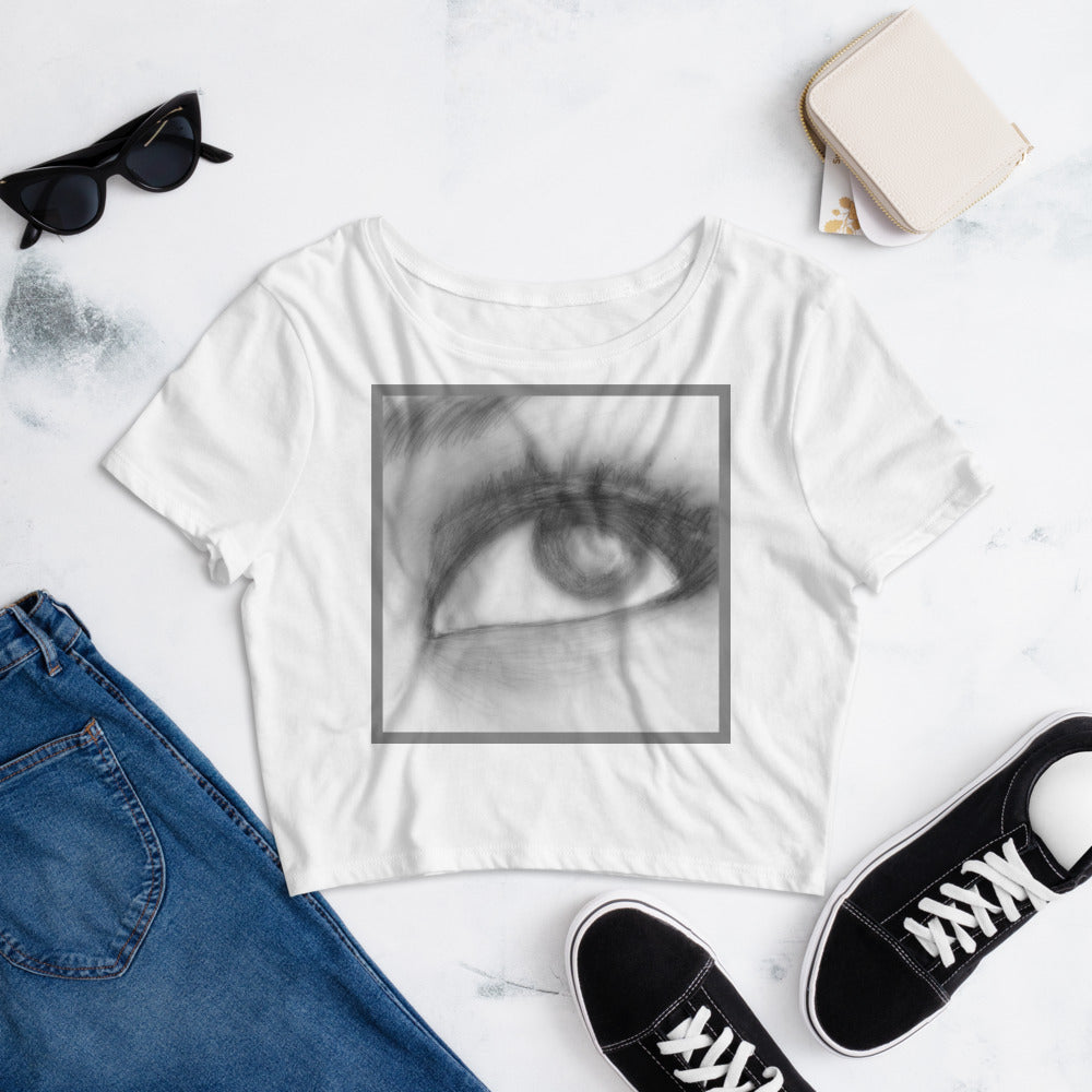 Memories - Women's Crop Tee