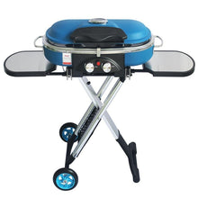 Load image into Gallery viewer, Integrated Portable Trolley BBQ Grill Outdoor Camping Barbecue Grill Gas Stove - Smoki Grills