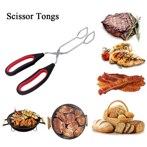 BBQ Tools Stainless Steel Tongs - Smoki Grills