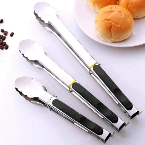 Stainless Steel BBQ Grill Tong - Smoki Grills