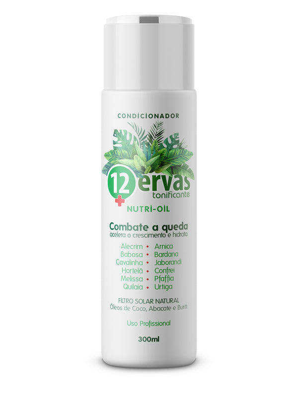 Condicionador 12 Ervas Nutri-Oil - 300ml