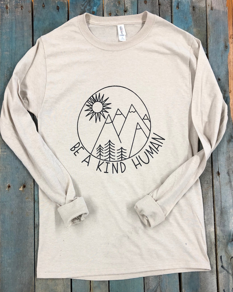 Be A Kind Human Long Sleeve