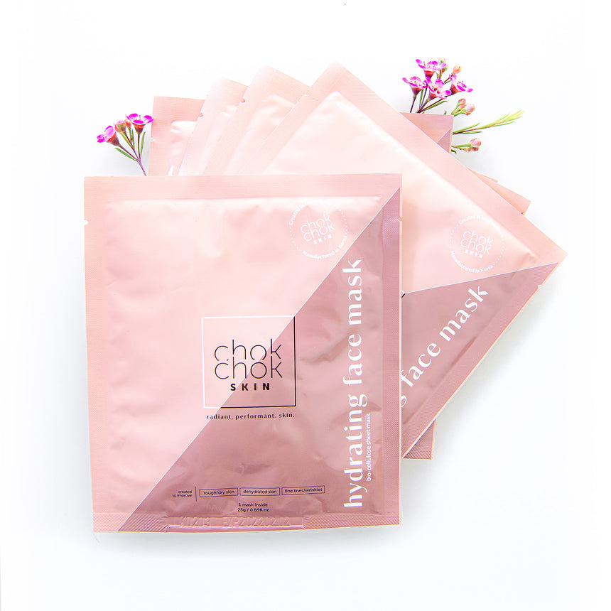 Bio-cellulose Hydrating Face Mask - 5 Pack