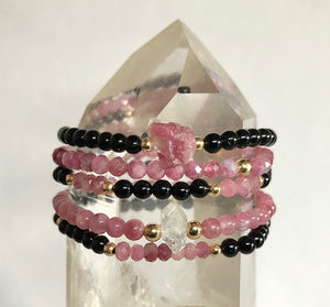 Gaslighter Crystal Stack Bracelet