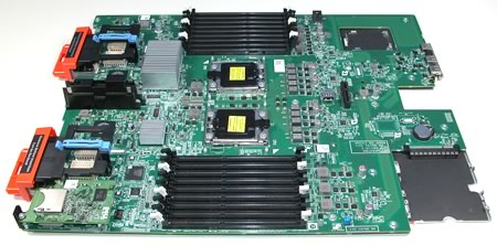 CN-0X3X22 Dell PowerEdge M710 Motherboard