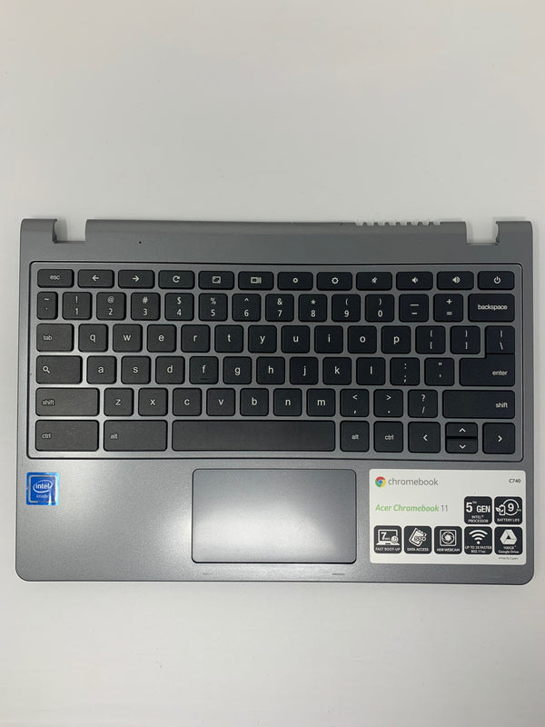 60.EF2N7.021 ACER Chromebook C740 Top Cover/Keyboard